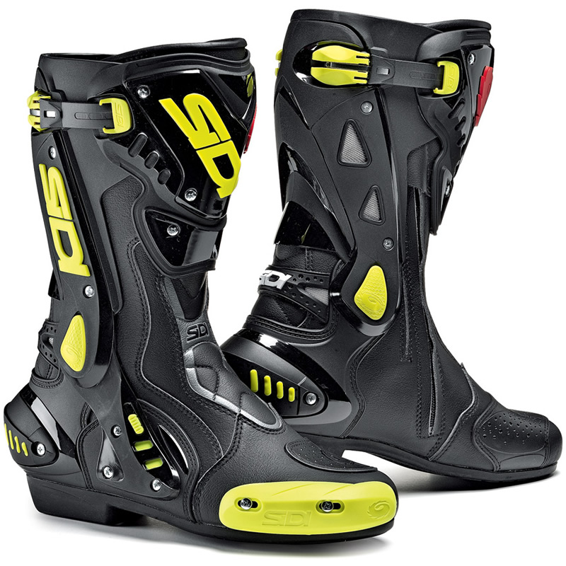 Sidi ST Motorcycle Boots Stealth Sport Racing Biker Boot ...