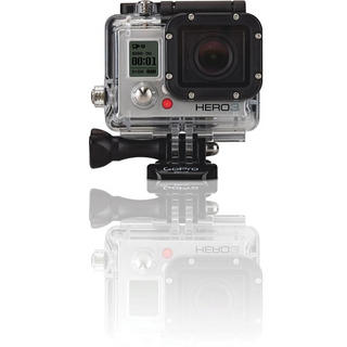 View Item GoPro HD Hero 3 Sports Camera Silver Edition