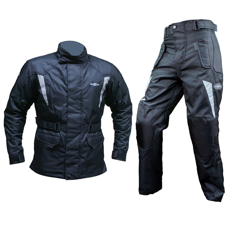 ROXTER WATERPROOF TEXTILE ARMOURED MOTORCYCLE TOURING JACKET