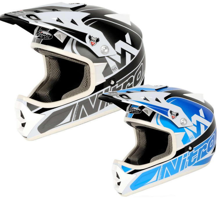 Nitro Raider Junior Motocross Helmet