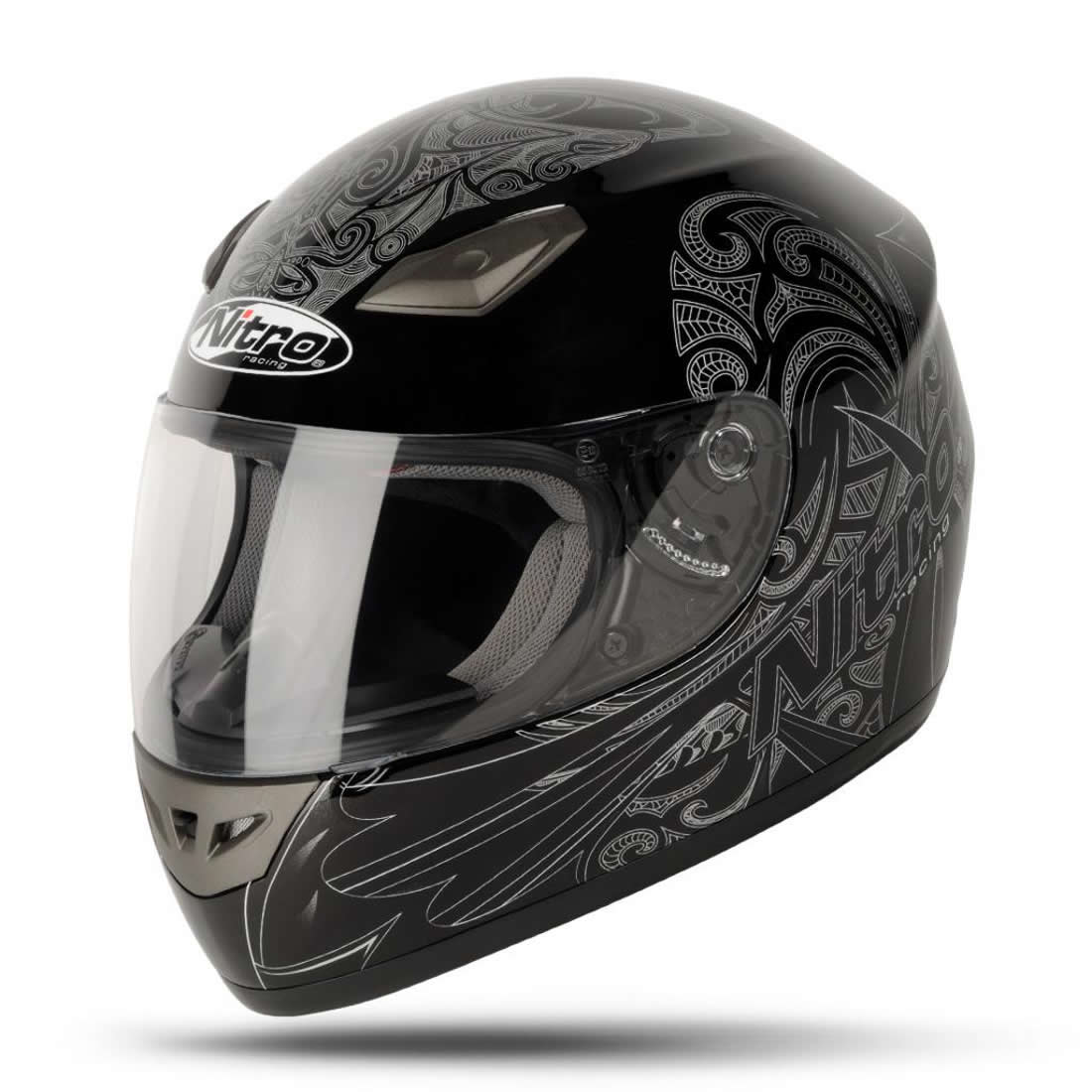 Nitro Moko Luxe Tribal Graphic Tattoo Full Face Motorcycle  : 8951 Nitro Moko Luxe Motorcycle Helmet Black 1100 1 <strong>O'Neal</strong> Helmets Motorcycle from www.ebay.com size 1100 x 1100 jpeg 101kB