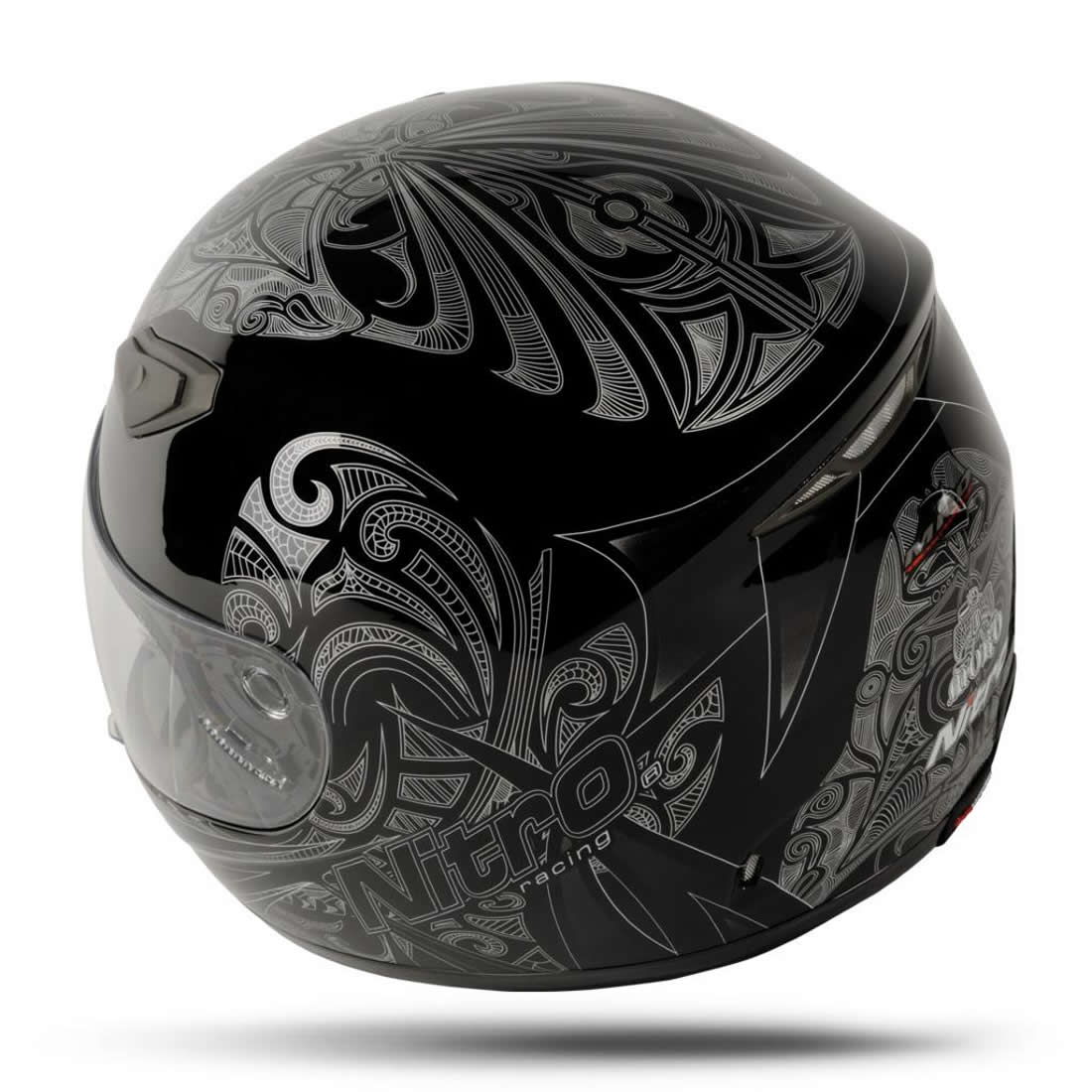 NITRO MOKO LUXE TRIBAL GRAPHIC TATTOO FULL FACE MOTORCYCLE  : 8951 Nitro Moko Luxe Motorcycle Helmet Black 1100 3 <strong>Vinyl Decals for</strong> Motorcycles from www.ebay.com size 1100 x 1100 jpeg 123kB