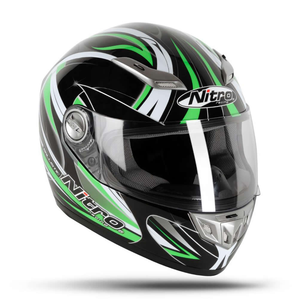 nitro ballistic casque moto scooter 5 toiles sharp acu or course sport piste ebay. Black Bedroom Furniture Sets. Home Design Ideas
