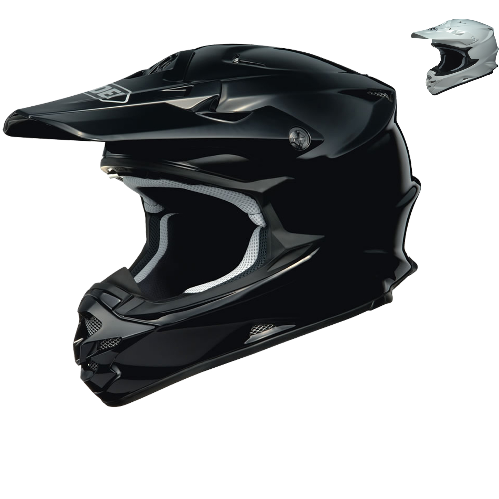 shoei vfx w motocross helmet motocross helmets. Black Bedroom Furniture Sets. Home Design Ideas