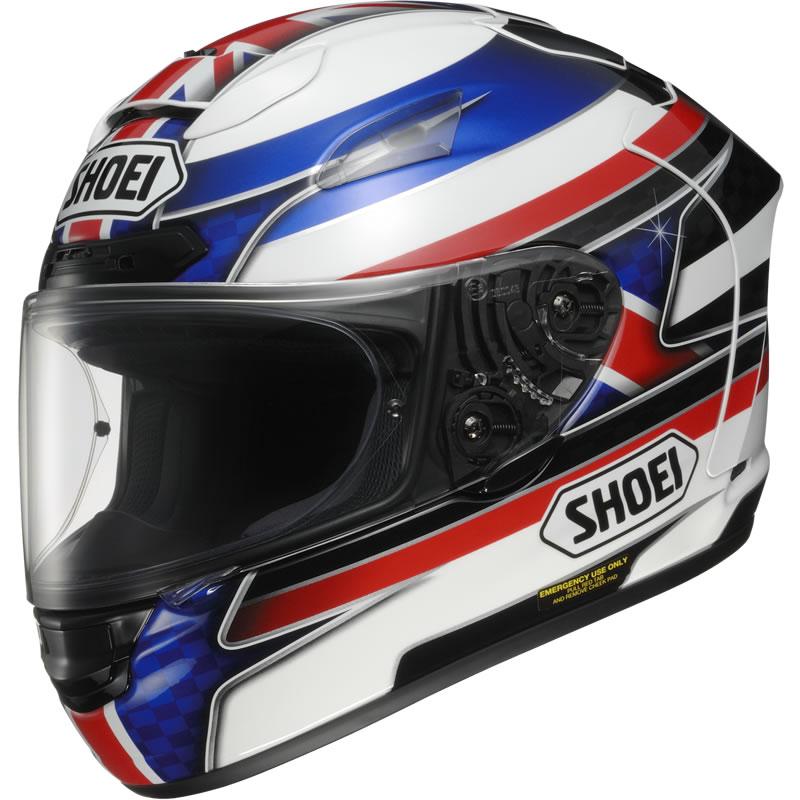 shoei x spirit ii xspirit 2 reverb motorcycle motorbike acu race bike helmet ebay. Black Bedroom Furniture Sets. Home Design Ideas