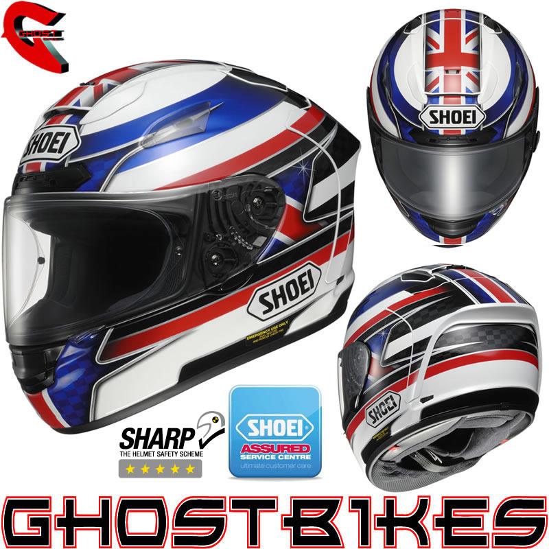 SHOEI X-SPIRIT II XSPIRIT 2 JOHN MCGUINNESS MOTORCYCLE MOTORBIKE