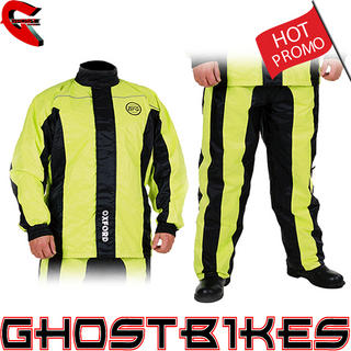 View Item Oxford Bone Dry Hi-Vis Over Jacket &amp; Trouser Kit