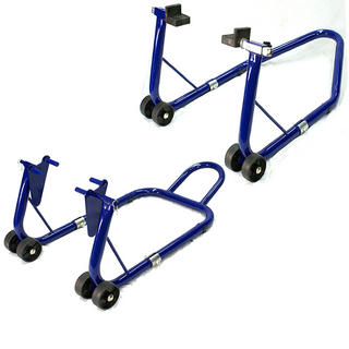 View Item Oxford Heavy Duty Front & Rear Paddock Stand Set