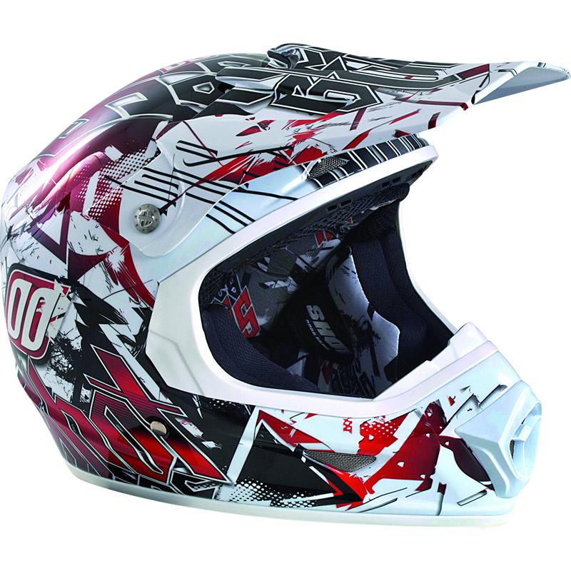 shot furious impact motocross helmet quad off road race. Black Bedroom Furniture Sets. Home Design Ideas