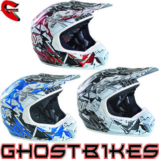 View Item Shot Furious Impact Motocross Helmet