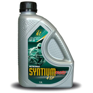 View Item Petronas Syntium Moto 4SP 4 Stroke Oil 5W-40 1 Litre
