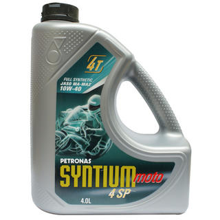 View Item Petronas Syntium Moto 4SP 4 Stroke Oil 10W-40 4 Litre