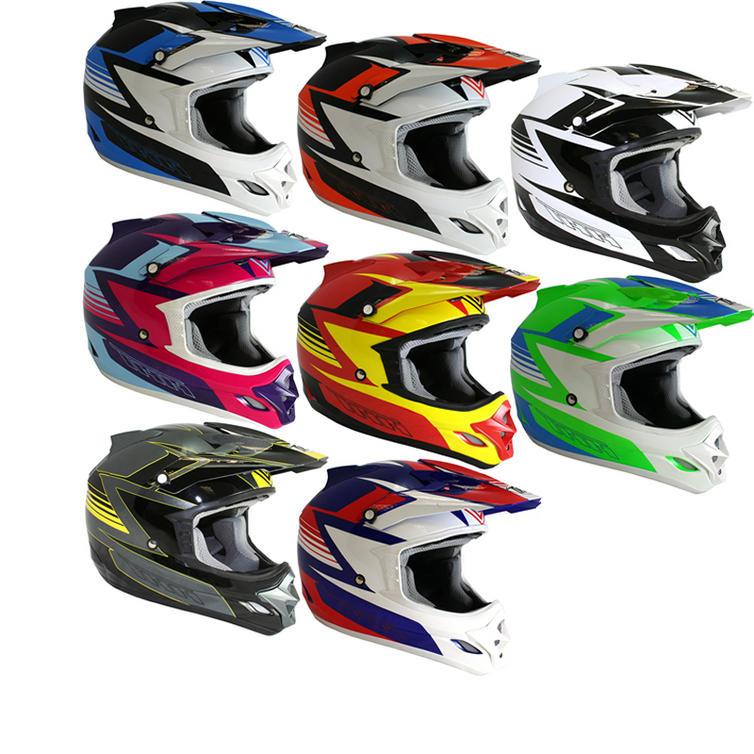 THH TX-23 #15 Velocity Motocross Helmet