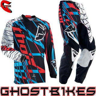 View Item Thor Phase S13 Coil LTD Edition Cyan Motocross Kit