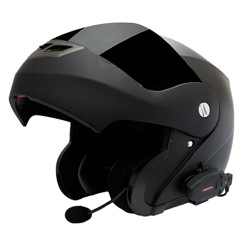bikecomm hola s intercom motorcycle waterproof bluetooth helmet headset duo pack. Black Bedroom Furniture Sets. Home Design Ideas