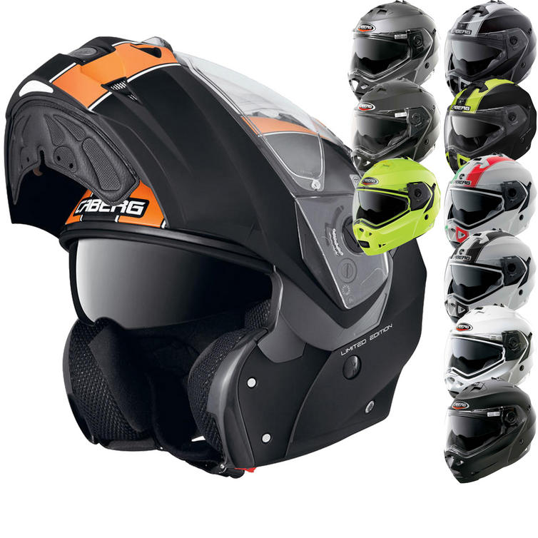 Image of Caberg Duke Motorcycle Helmet + FREE Balaclava + Neck Tube
