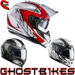 View Item HJC IS-17 Tasman Motorcycle Helmet