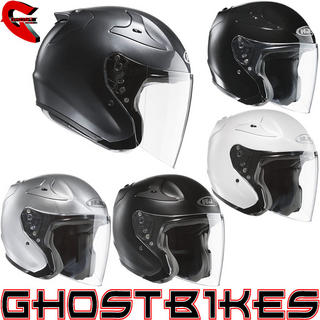 View Item HJC R-PHA Jet Plain Motorcycle Helmet