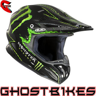 View Item HJC RPHA X Nate Adams Monster Replica Motocross Helmet