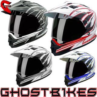 View Item THH TX-26 #3 Dual Sport Motocross Helmet
