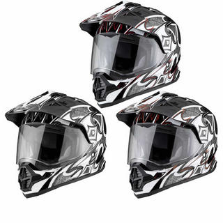 View Item THH TX-26 #1 Sharp Dual Sport Motocross Helmet