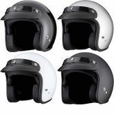 THH T-380 Plain Open Face Cafe Helmet