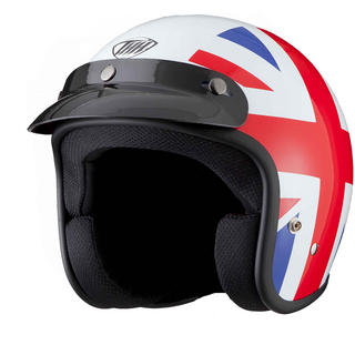 View Item THH T-380 #9 Brit Open Face Cafe Helmet