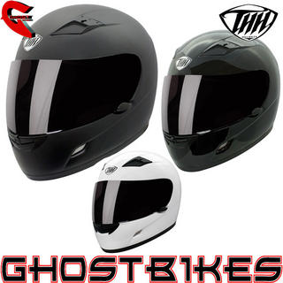 View Item THH TS-39 Plain Full Face Helmet