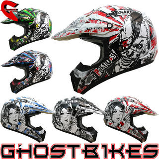 View Item THH TX-12 #12 Anarchy Motocross Helmet