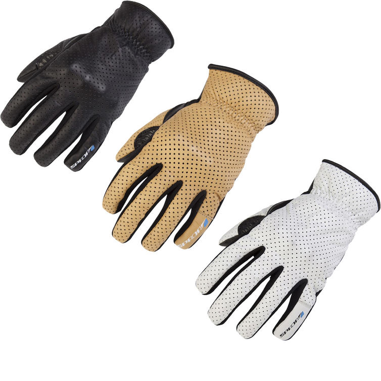 Spada Forty4 Driver Leather Motorcycle Gloves