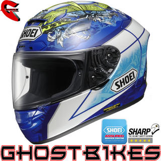 View Item Shoei X-Spirit 2 Bautista Motorcycle Helmet