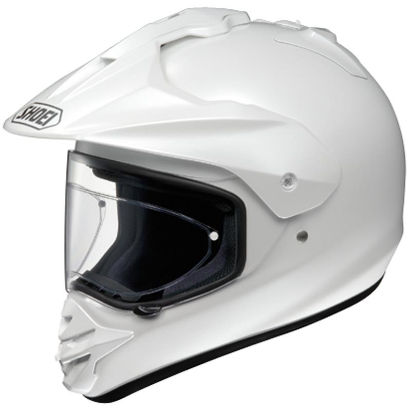 SHOEI HORNET DS MOTOCROSS STRA?EN/GELÄNDER ENDURO HELM CRYSTAL WEIß 59-60 cm L Enlarged Preview