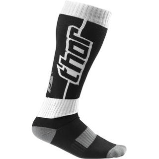 View Item Thor MX Motocross Youth Socks Short S10 Black White