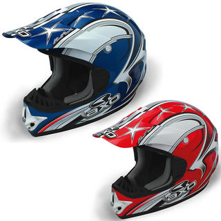 View Item Axo VR-X Fibre Motocross Helmet