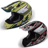 View Item Axo VR-X Fibre Camo Motocross Helmet