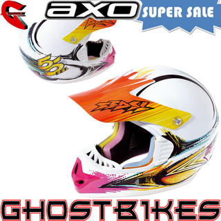 View Item Axo VR-X 55DSL Motocross Helmet