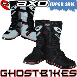 View Item Axo Boxer Junior Motocross Boots