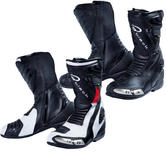 Black Zero Air CE Approved Motorcycle Boots