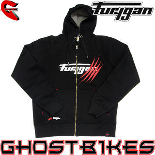 View Item Furygan Sweat Claw Zip-Up Motorcycle Hoodie