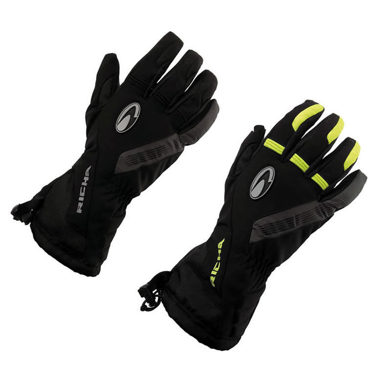 Richa Tundra Waterproof Motorcycle Gloves
