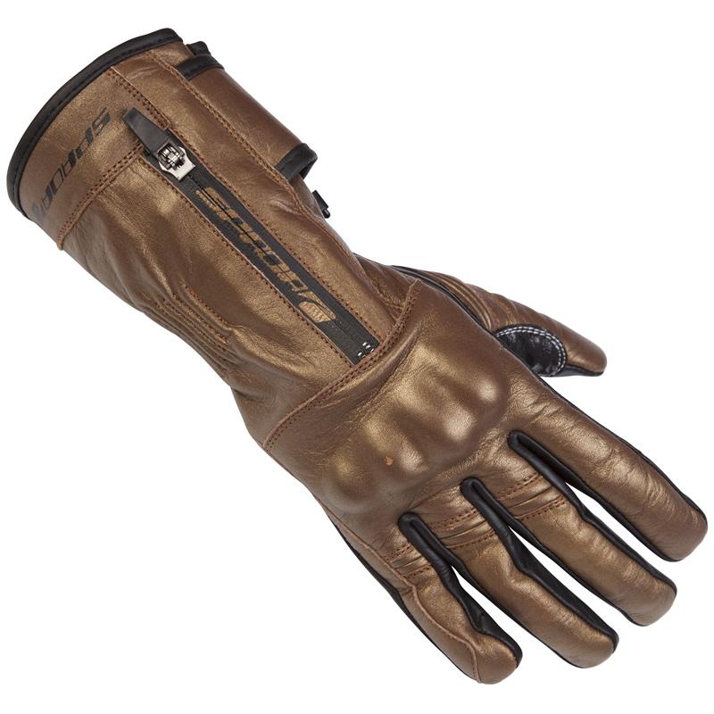 Winter Motorcycle Gloves >> SPADA FINESSE LADIES LEATHER SUMMER GAUNTLET MOTORCYCLE MOTORBIKE GLOVES BRONZE | eBay