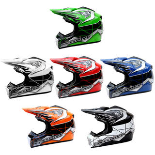 View Item Wulf Star Flite Motocross Helmet