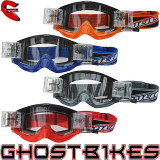 View Item Wulf Shade Roll-off Racer Pack Motocross Goggles