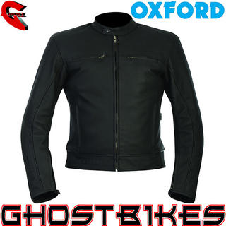 View Item Oxford Buddy Leather Motorcycle Jacket