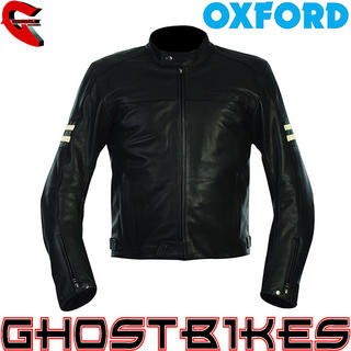 View Item Oxford Highway Leather Motorcycle Jacket