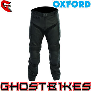 View Item Oxford Atom Leather Motorcycle Trousers