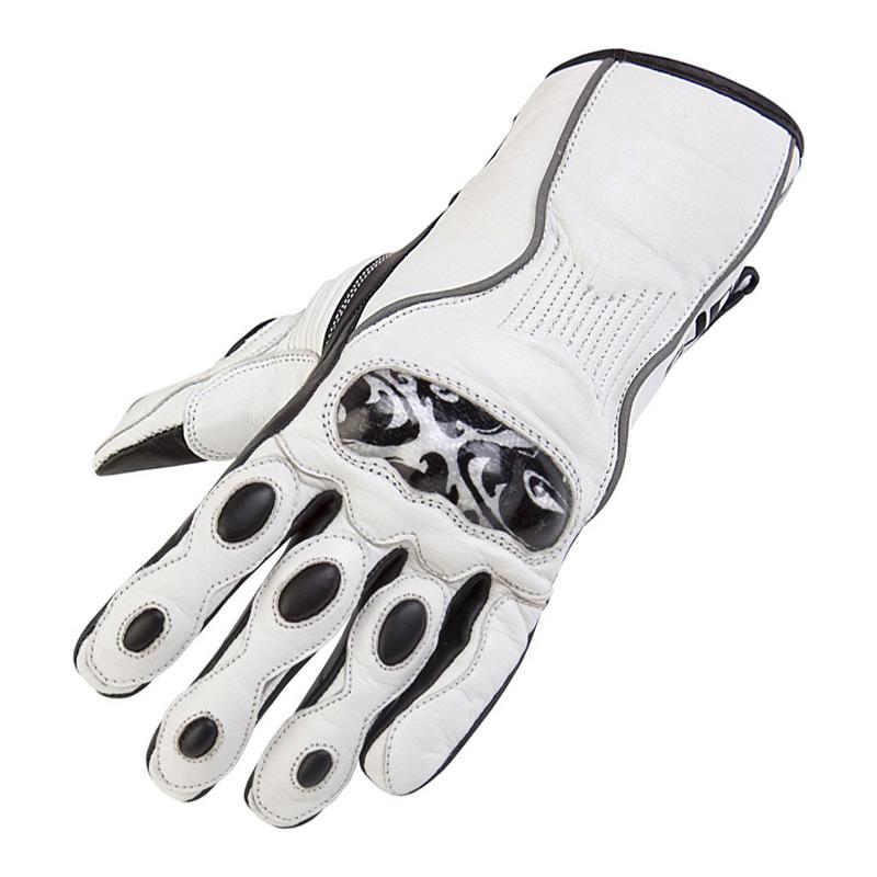Sport Motorcycle Gloves: SPADA THIRTY3 SCROLL LADIES WOMENS LEATHER SUMMER SPORT