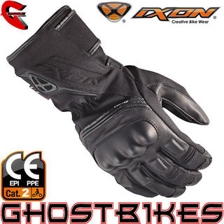View Item Ixon Pro Blizzard HP CE Approved Motorcycle Gloves