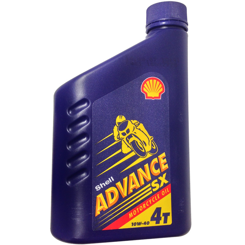 1 litre shell advance sx 4t 4 stroke motorcycle motorbike for Motor oil for motorcycles