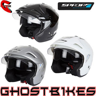 View Item Spada RP388 Open Face Motorcycle Helmet